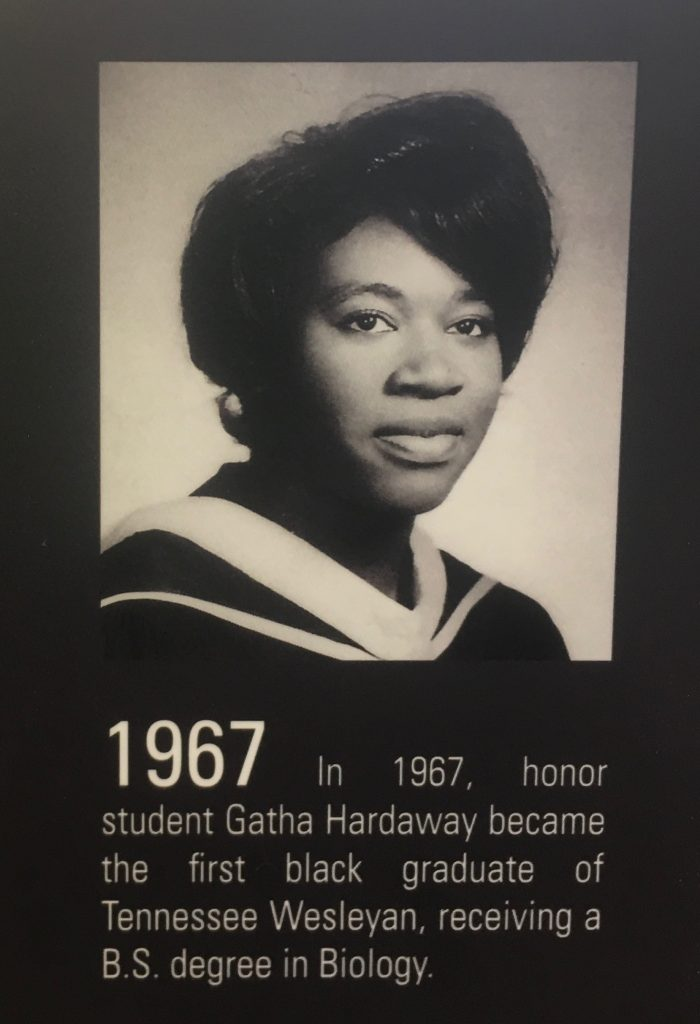 Gatha Hardaway in Colloms Campus Center